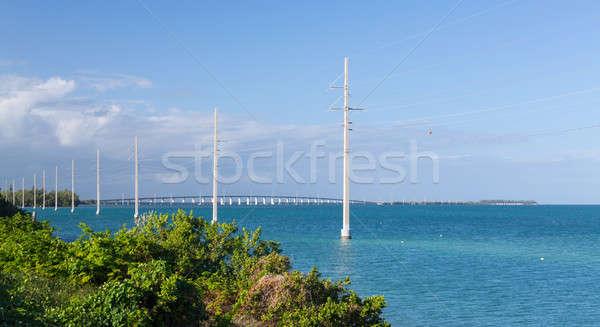 フロリダ キー 橋 電源 ストックフォト © backyardproductions