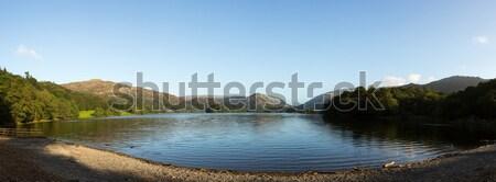 All'alba lake district panorama sunrise sole luce Foto d'archivio © backyardproductions