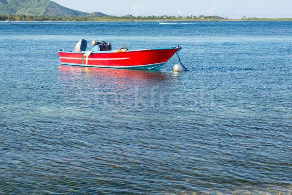 Stockfoto: Boten · water · hemel · zon · landschap