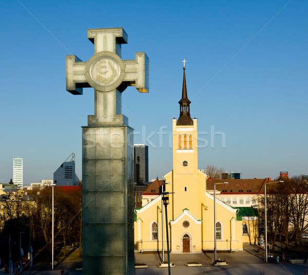 St John's Church, Tallinn Stock photo © backyardproductions