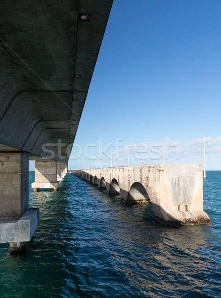 Флорида ключами моста наследие тропе конкретные Сток-фото © backyardproductions