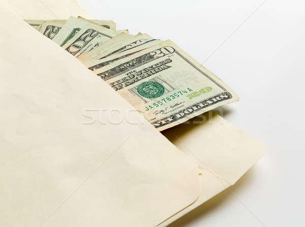 Vinte envelope usado 20 Foto stock © backyardproductions
