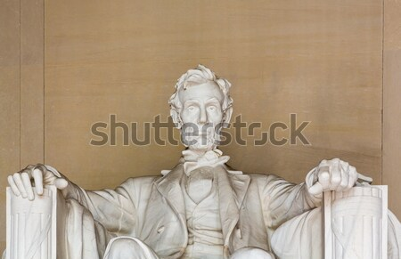 President Lincoln statue Stock photo © backyardproductions