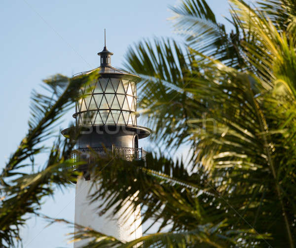 Cape Florida lighthouse in Bill Baggs Stock photo © backyardproductions