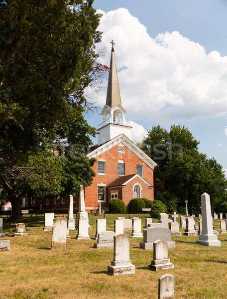 Церкви часовня точки Мэриленд используемый США Сток-фото © backyardproductions