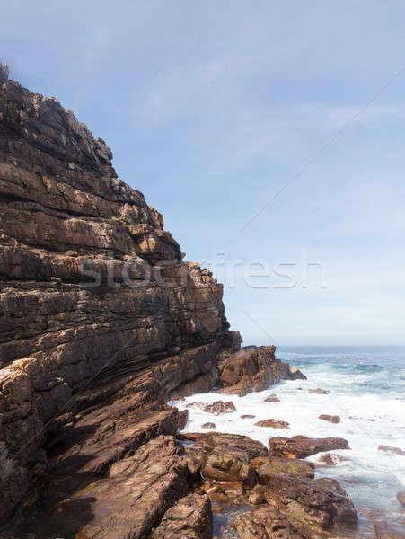 Rocky shoreline Cape of Good Hope Stock photo © backyardproductions