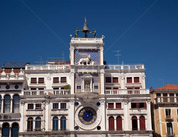 Clock Tower in St Mark's Square Stock photo © backyardproductions