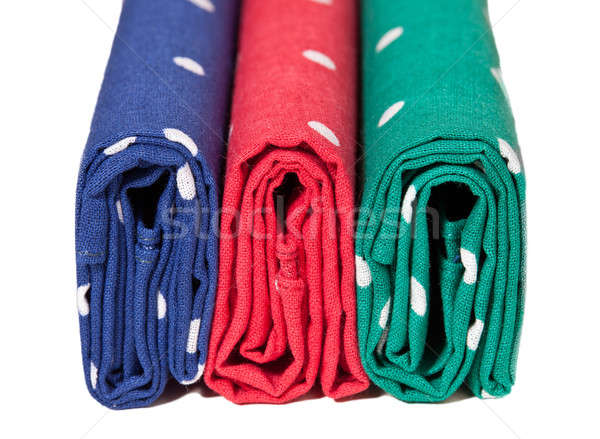 Red, blue and green handkerchiefs Stock photo © backyardproductions