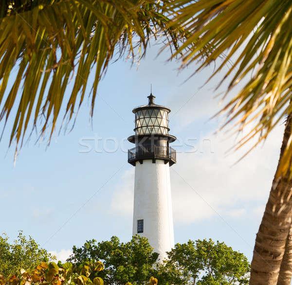 Flórida farol projeto de lei lanterna parque chave Foto stock © backyardproductions
