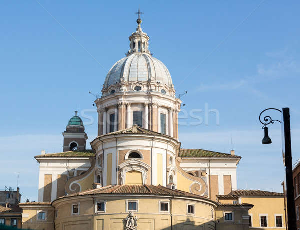 San Carlo al Corso church Rome Stock photo © backyardproductions