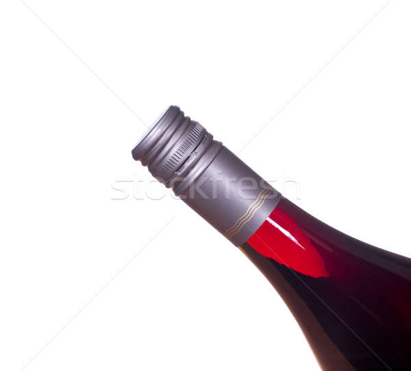 Red wine in screw top bottle Stock photo © backyardproductions