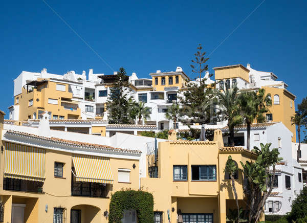 Timeshares and apartments in Marbella Spain Stock photo © backyardproductions