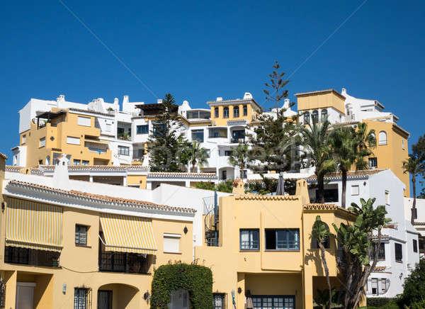 Hiszpania andaluzja domu hotel wakacje Zdjęcia stock © backyardproductions