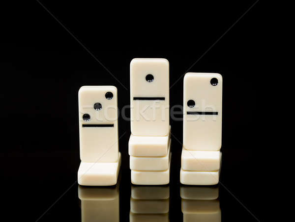 Witte tonen winnaar race afbeelding drie Stockfoto © backyardproductions