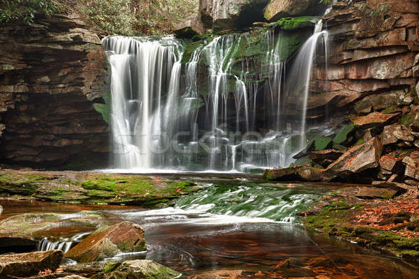 Elakala Falls in West Virginia Stock photo © backyardproductions