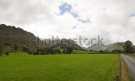 Rural scene in Borrowdale Stock photo © backyardproductions