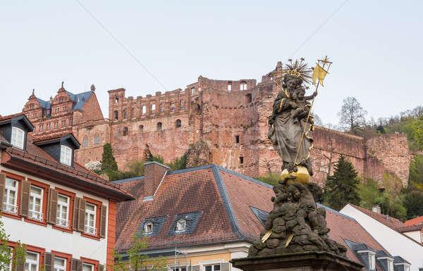 Old town of Heidelberg Germany Stock photo © backyardproductions