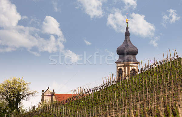 Church St Johannis or Johannes in Castell Germany Stock photo © backyardproductions