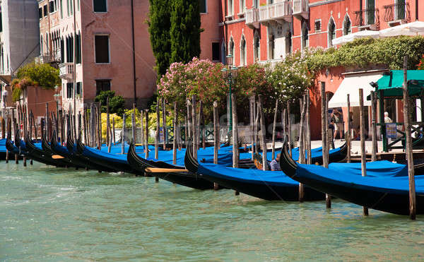 Gondolas in Venice Stock photo © backyardproductions