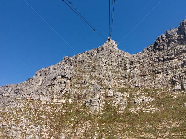 Table montagne Le Cap Afrique du Sud au-dessus Photo stock © backyardproductions