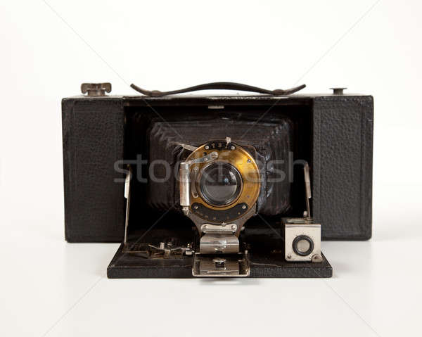 Ancient Camera in front view Stock photo © backyardproductions