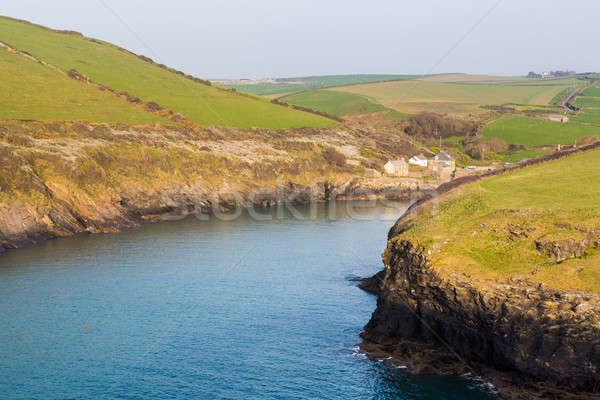 Zuiden west kust pad haven cornwall Stockfoto © backyardproductions
