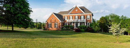 Front elevation large single family home Stock photo © backyardproductions