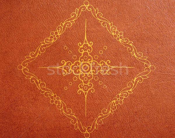 Close-up of leather surface Stock photo © backyardproductions