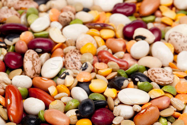 Mix of 17 beans and barley Stock photo © backyardproductions