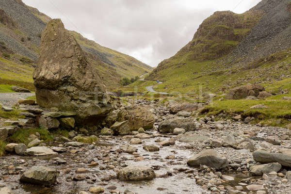 Honister Pass in Lake District in stream Stock photo © backyardproductions