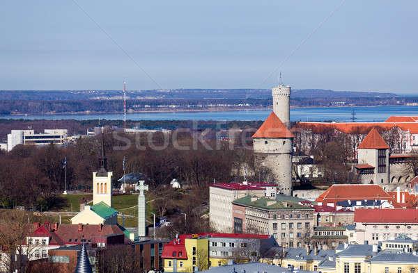 Città vecchia Tallinn Estonia noto mondo patrimonio Foto d'archivio © backyardproductions