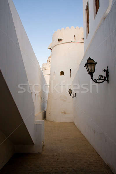 Alley in old fort in UAE Stock photo © backyardproductions