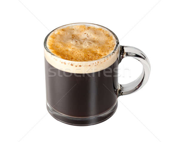 Expresso Coffee in glass cup Stock photo © backyardproductions