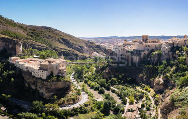 Cuenca in Castilla-La Mancha, Spain Stock photo © backyardproductions