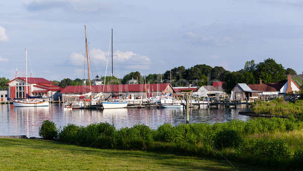 Harbor at St Michaels on Chesapeake Bay Stock photo © backyardproductions