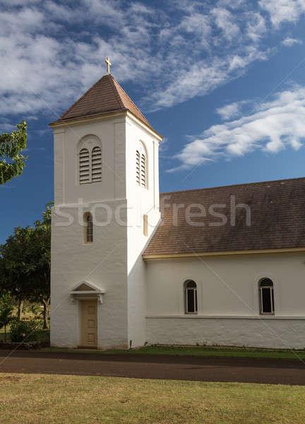 Cattolico chiesa esterno viaggio pietra culto Foto d'archivio © backyardproductions