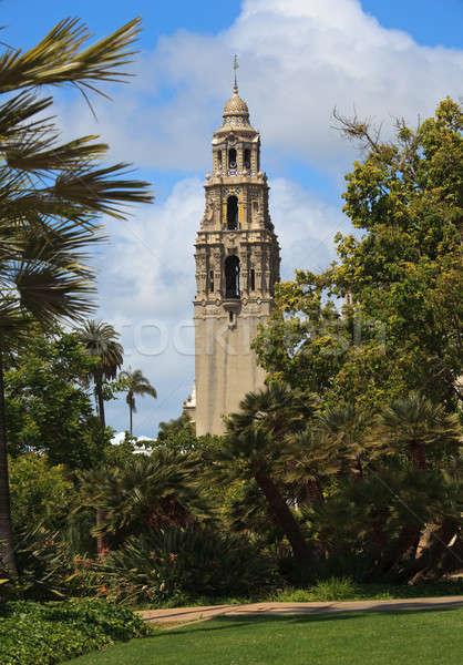 Калифорния башни парка мнение Сан-Диего Сток-фото © backyardproductions