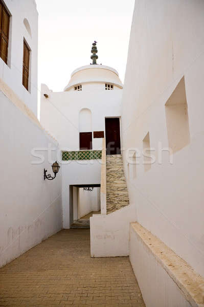 Abu Dhabi alley in fort Stock photo © backyardproductions