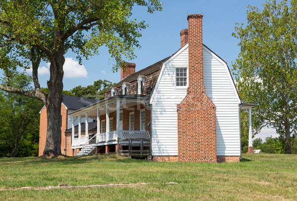 Thomas Stone house Port Tobacco Maryland Stock photo © backyardproductions