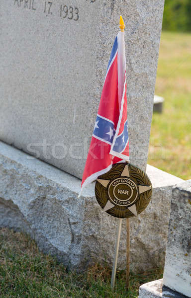 Stock photo: Graves at St Ignatius church Maryland