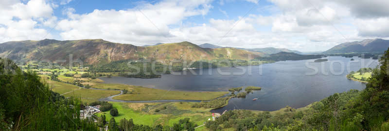 Derwent Water from viewpoint Stock photo © backyardproductions