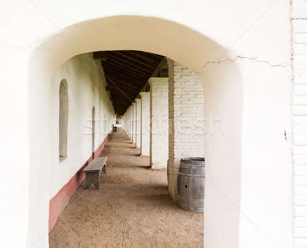 La Purisima Conception mission CA Stock photo © backyardproductions