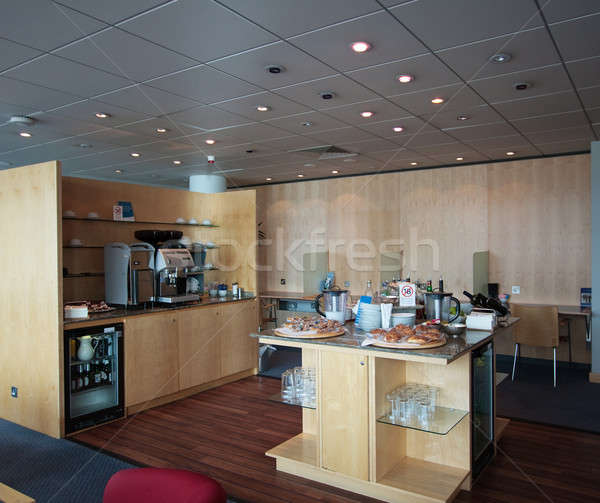 Interior of airline lounge Stock photo © backyardproductions