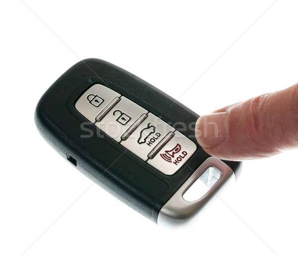 Keyless wireless door opener fob Stock photo © backyardproductions