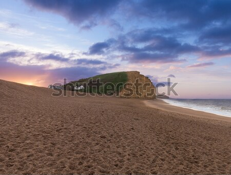 Восход Запад пляж используемый расположение Сток-фото © backyardproductions