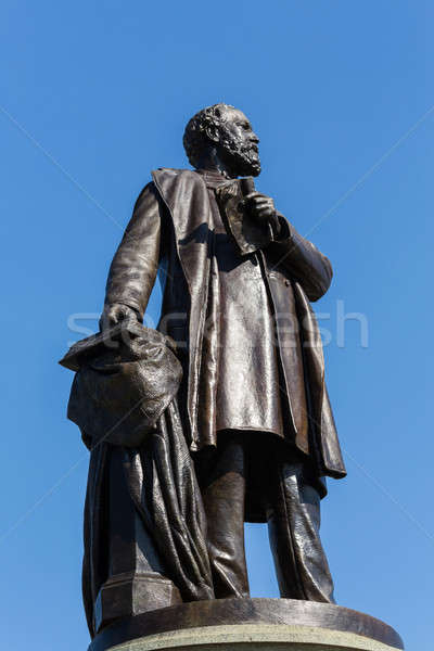 Statue to assassinated president James Garfield Stock photo © backyardproductions