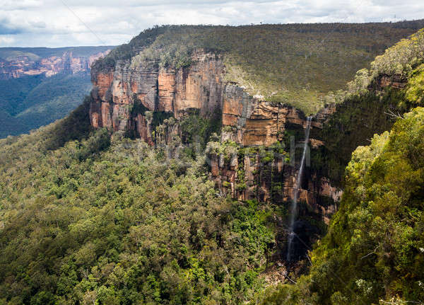 Waterfall in Blue Mountains Australia Stock photo © backyardproductions