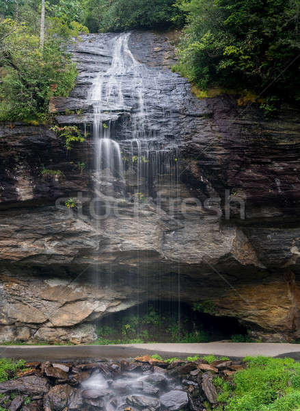 Bridal Veil Falls near Highlands NC Stock photo © backyardproductions