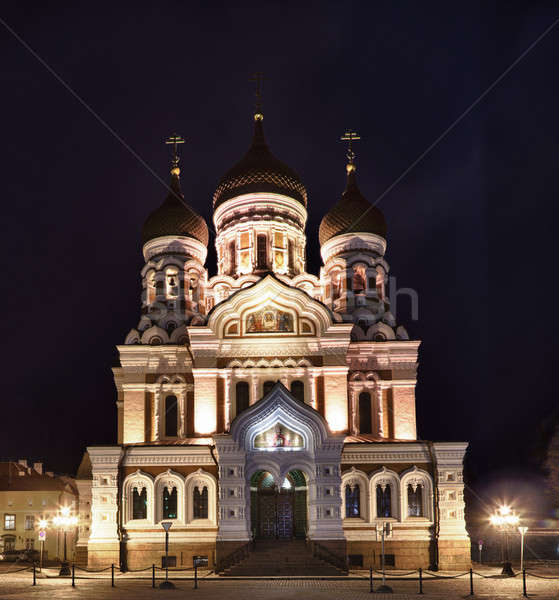 Alexander Nevsky Cathedral Stock photo © backyardproductions