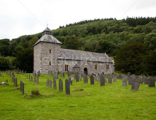 Melangell Church in North Wales Stock photo © backyardproductions
